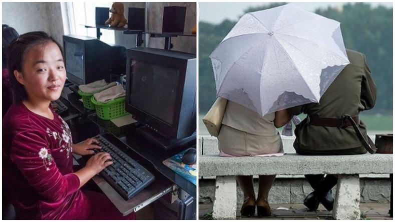 Эдгээр гэрэл зургуудыг дарсан залуу насан туршдаа Хойд Солонгост очих эрхгүй болжээ