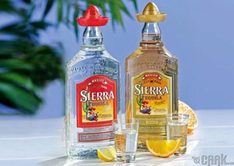 """""""Sierra Silver"""" текила"""