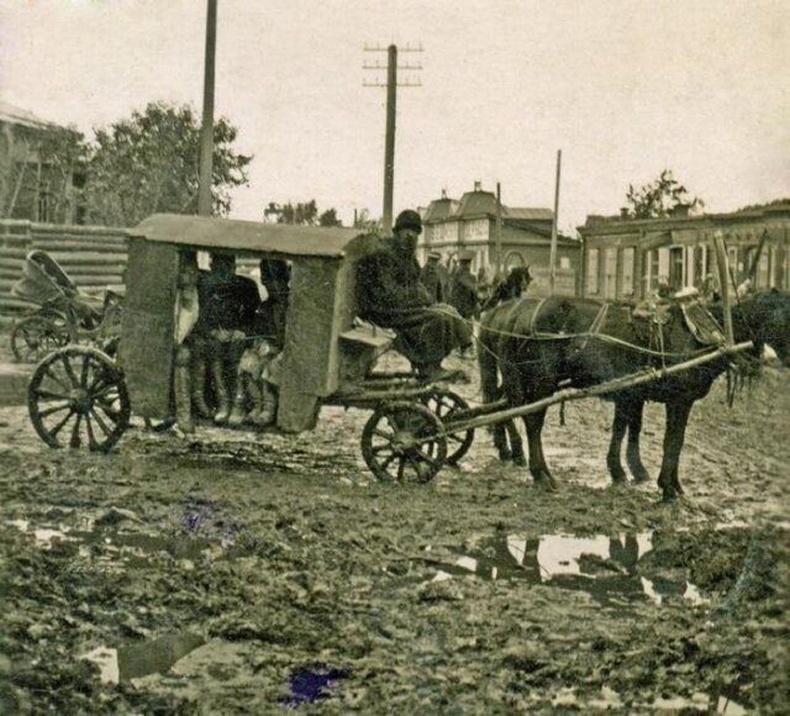 Хот доторх мини автобус , 1913 он, Челябинск хот.