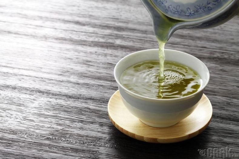 (Green tea)-Ногоон цай