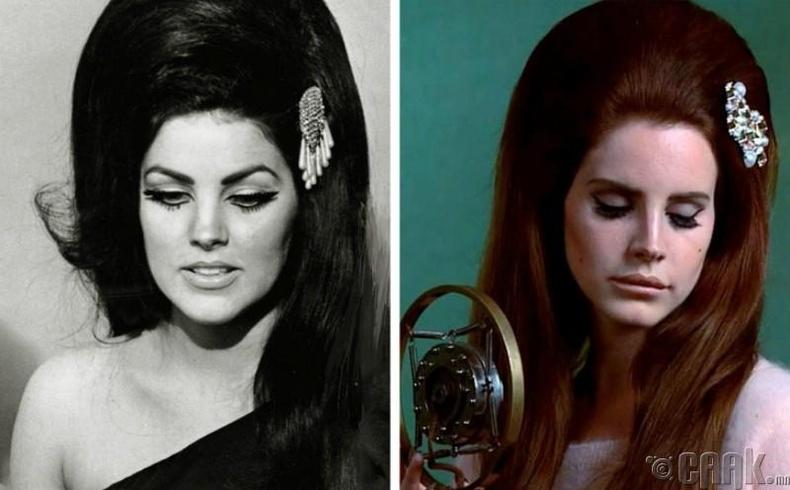 Присилла Пресли — Лана Дель Рей (Priscilla Presley - Lana Del Rey)