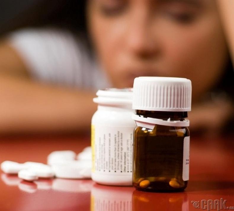 """""""Антидепрессант"""" болон өвчин намдаагч"""