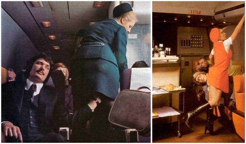 1960-аад оны онгоцны үйлчлэгчид заавалганц бие, секси харагдах ёстой байжээ