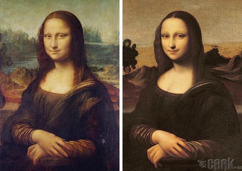 """Алдарт """"Мона Лиза""""-ийн зураг"""