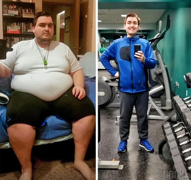 Жилийн дотор 177-оос 88 кг жинтэй болтлоо гайхалтайгаар турж чадсан залуу