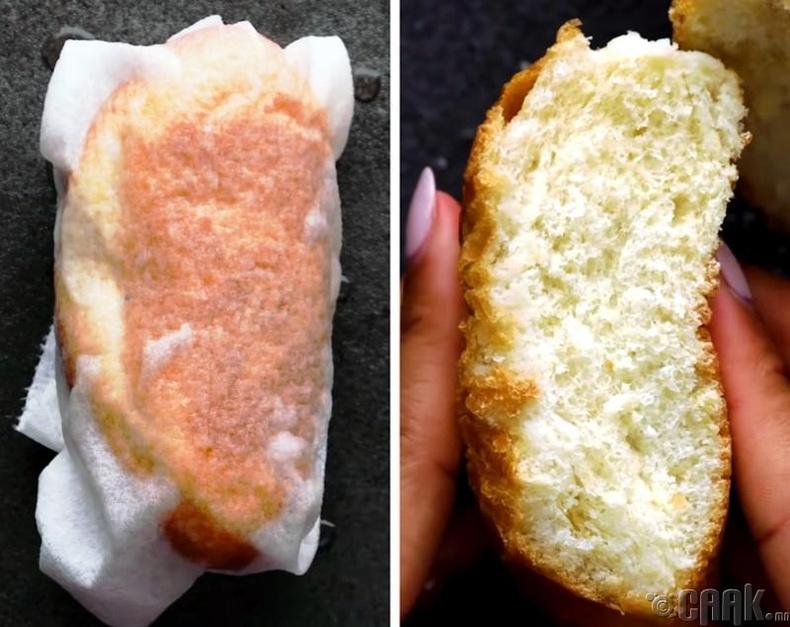 Хатсан талхыг зөөлрүүлэх