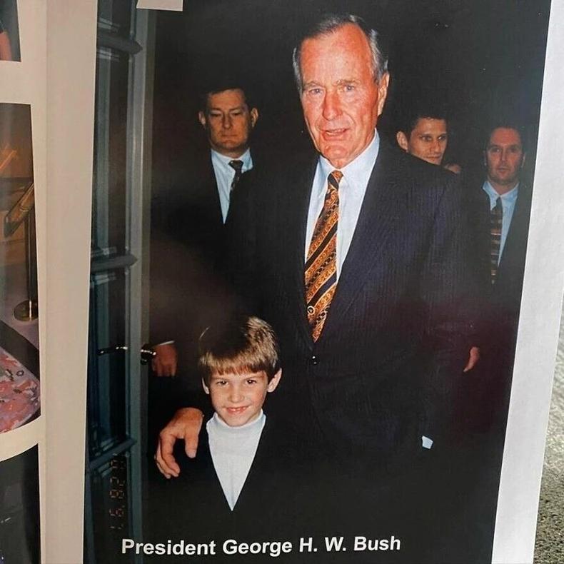 АНУ-ын ерөнхийлөгч асан Жорж Х.Буш