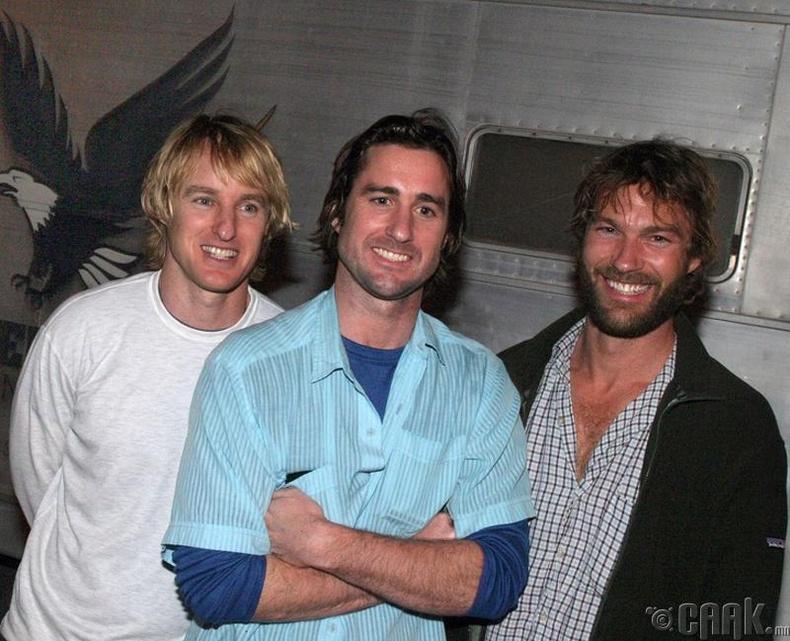 Овен, Люк болон Эндрю Уилсон (Owen and Luke Wilson with Andrew Wilson)