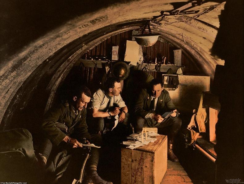 105-р дивизийн офицерүүд, Фландерс -1917 оны 8 сарын 27