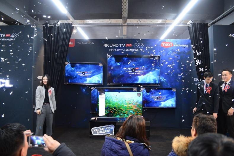 """Дэлхийн нээлт МОНГОЛД: """"Next""""-ийнхэн """"TCL"""" брэндийн P8 зурагтаар бэлэг барилаа"""