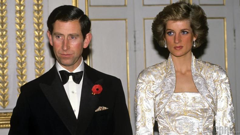 Диана гүнж, Ханхүү Чарлс (Princess Diana & Prince Charles) - 22.5 сая ам.доллар