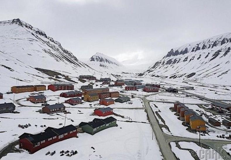 Дэлхийн маш хүйтэн хот - Лонгир, Норвеги