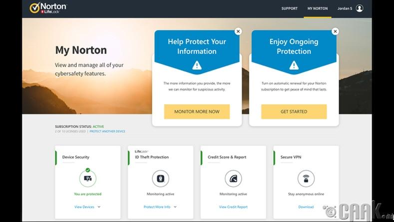 """Хамгийн олон төрөл болон үнийн сонголтуудтай: """"Norton 360"""""""
