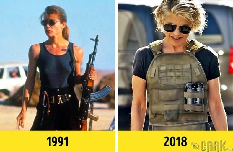 """28 жилийн дараа """"Терминатор"""" кинонд дахин тоглохын тулд биеэ бэлджээ"""