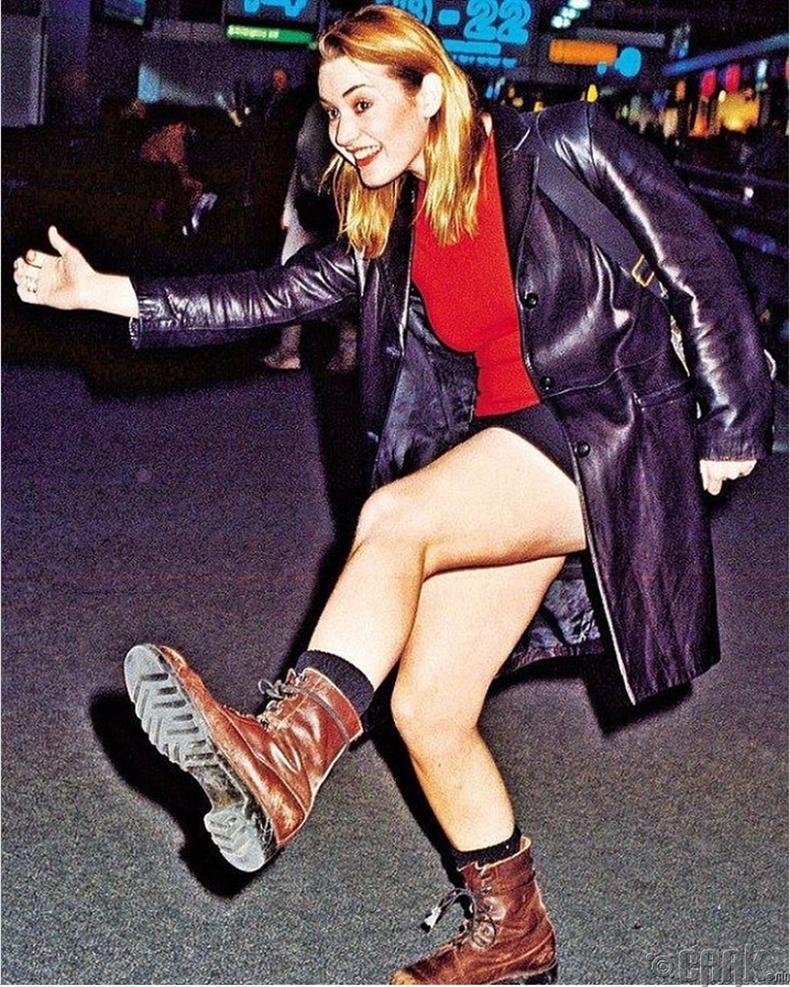 Жүжигчин Кэйт Уинслет (Kate Winslet) Нью-Йорк хотод, 1998 он