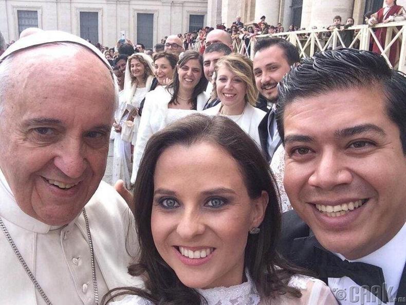 Пап лам Францис, 2014 он