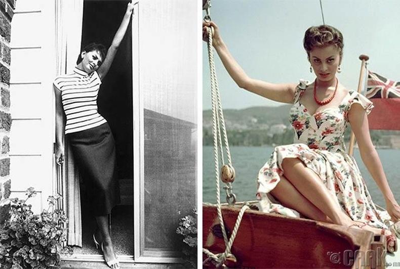 Софиа Лорен (Sophia Loren) - Италийн нэрт жүжигчин