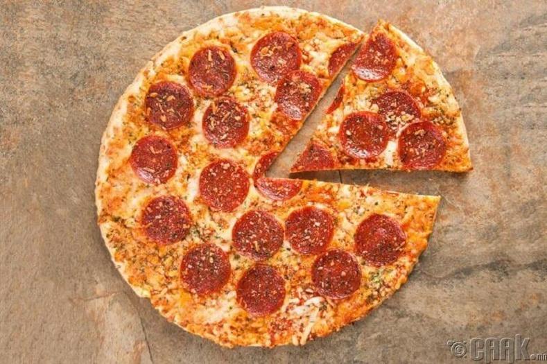 Хөлдүү пицца