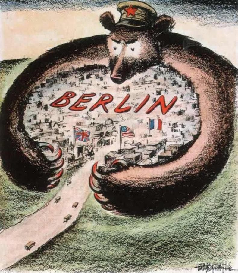 """""""Берлинийг зөвлөлтийн савраас хамгаалъя"""" - АНУ, 1948 он"""