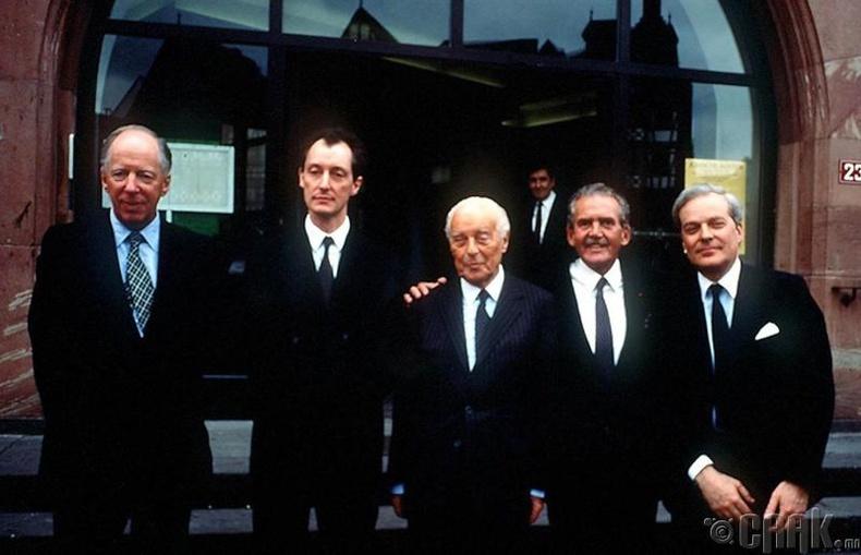 Ротшильдын гэр бүл /Rothschilds/