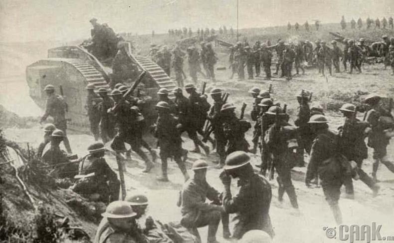 Дэлхийн нэгдүгээр дайныг зөгнөж, зүүдэлсэн эрхэм