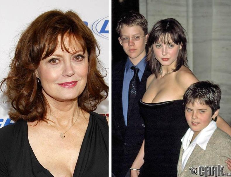 Сьюзан Сарандон (Susan Sarandon) 39-тэйдээ ээж болжээ