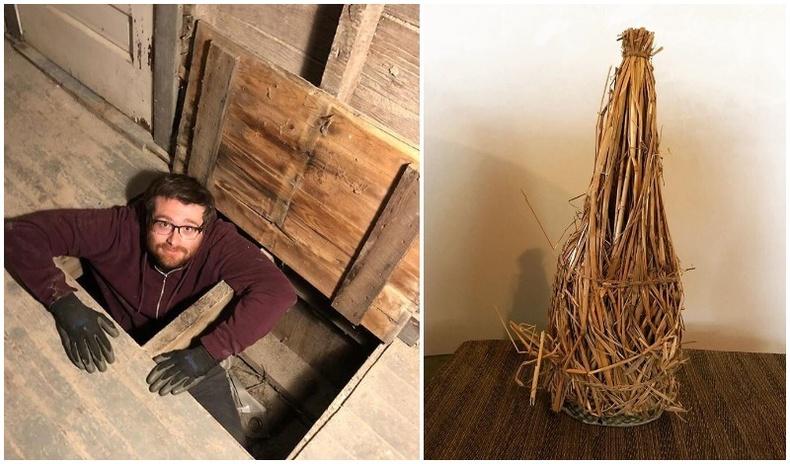 """Америк эр шинэ байшингаасаа 100 жилийн өмнөх """"Хуурай хууль""""-ийн үеэр нуусан вискинүүдийг олжээ"""