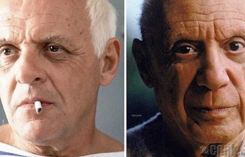 "Энтони Хопкинс - ""Surviving Picasso"" кинонд Пабло Пикассогийн дүрд"