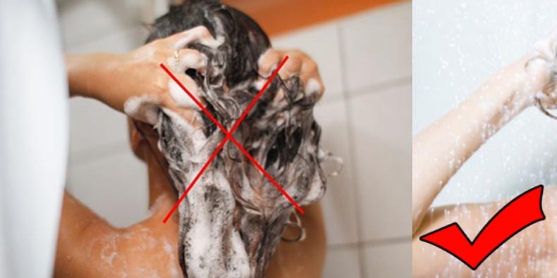Бид үсээ угаахдаа юун дээр алддаг вэ?