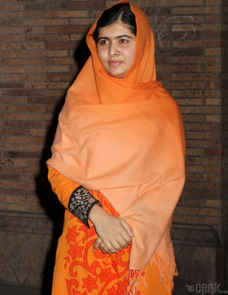 Малала Юсуфзай (Malala Yousafzai) - Нобелийн энх тайвны шагналтан