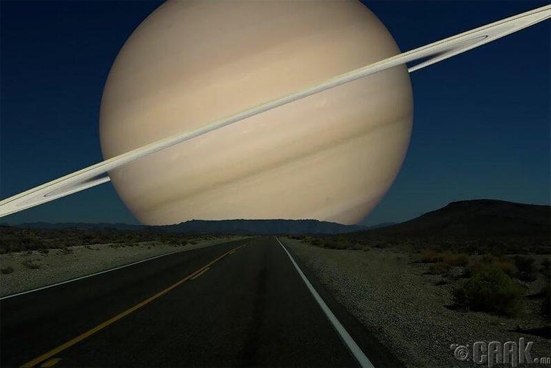 Санчир гариг сарнаас 35 дахин том ба цагиргууд нь дэлхийн бүх давхрагад хүрэх болно