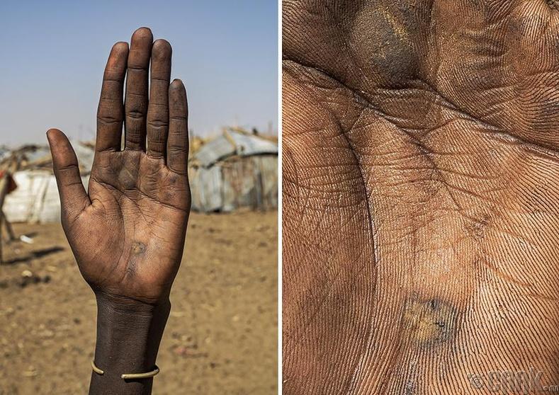 Африкийн нэгэн омгийн эмэгтэй