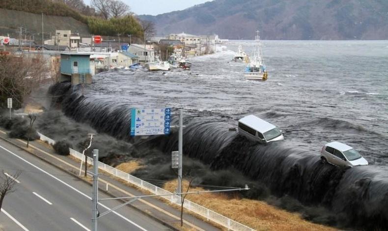 Японы цунами