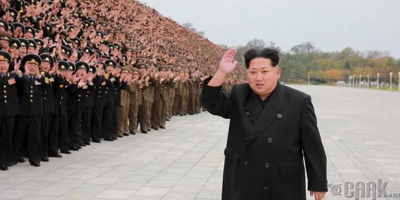 Ким Чен Ун бол цэргийн мэдлэггүй дэлхий дээрх цорын ганц командлагч