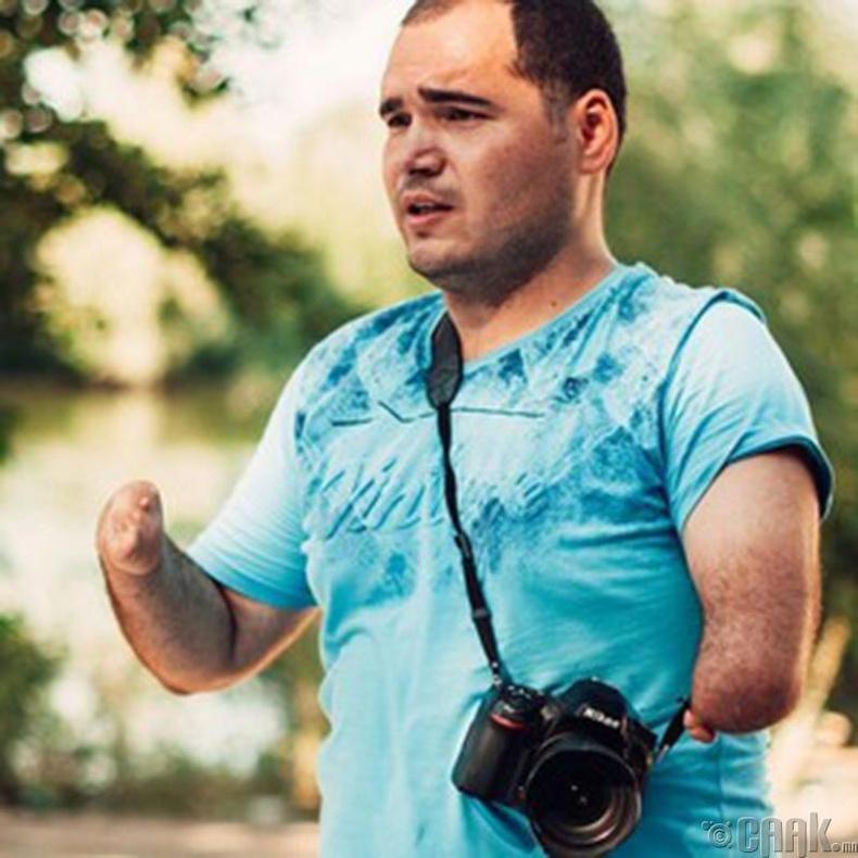 Фото зурганд сэтгэлээ өгсөн Горди Тришенков