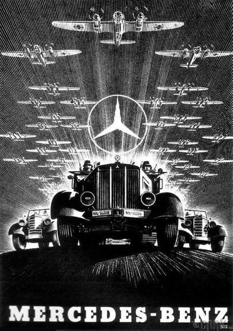 """""""Мерседес Бензийн сурталчилгааны хуудас"""" - Герман, 1930-аад он"""
