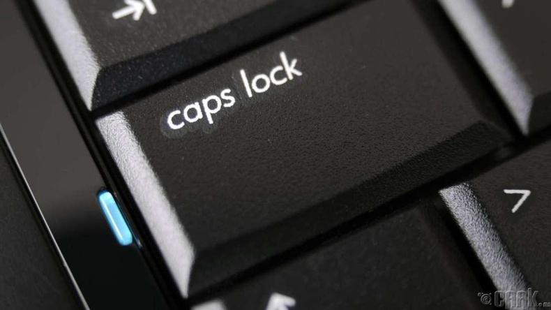 """""""Caps lock""""-той бичих дуртай бол:"""