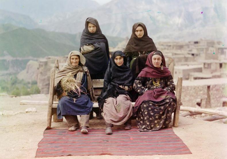 Дагестан эмэгтэйчүүд - 1910 он