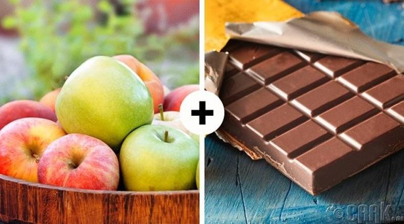 Алим болон хар шоколад