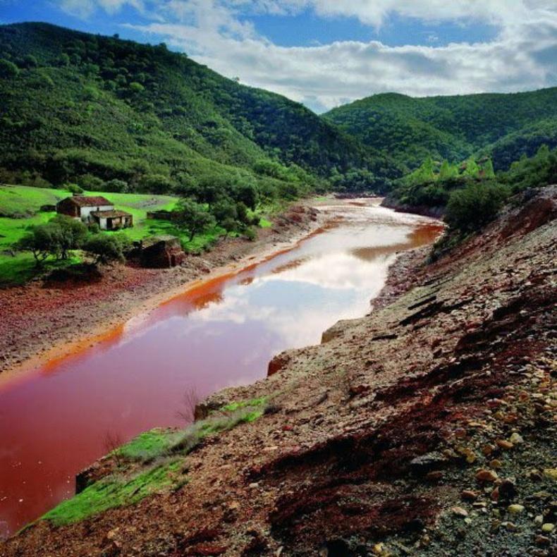 Рио-Тинто — хамгийн исгэлэн гол (Испани)