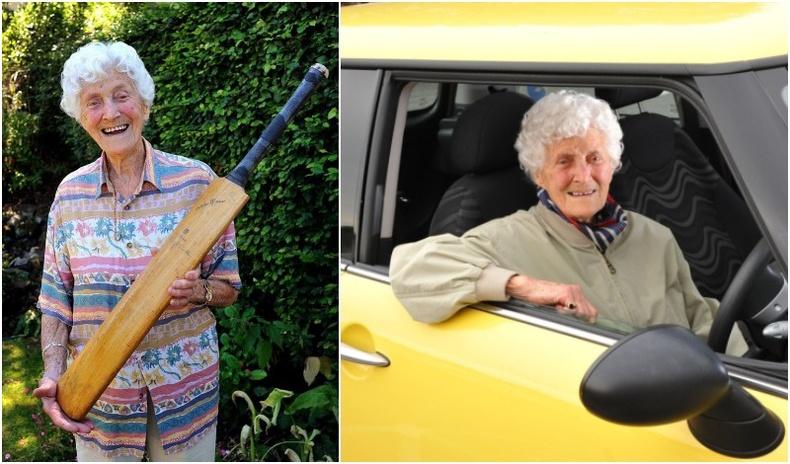 107 настай эмээгийн цоглог амьдрал
