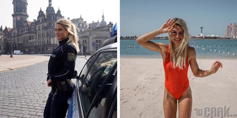 Цагдаагийн офицер Адриенна Колежар