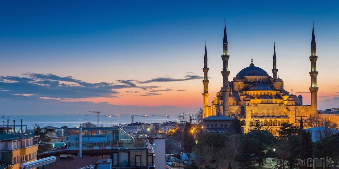 Истамбул, Турк - 111.32 доллар