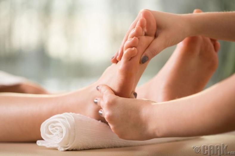 Хөлний массаж