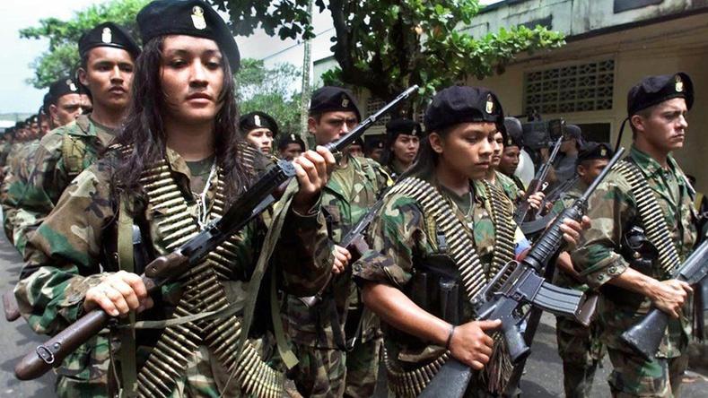 FARC зэвсэгт босогчид