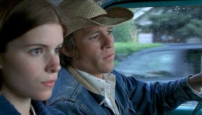Хит Лежер болон Кейт Мара («Brokeback Mountain», 2005)