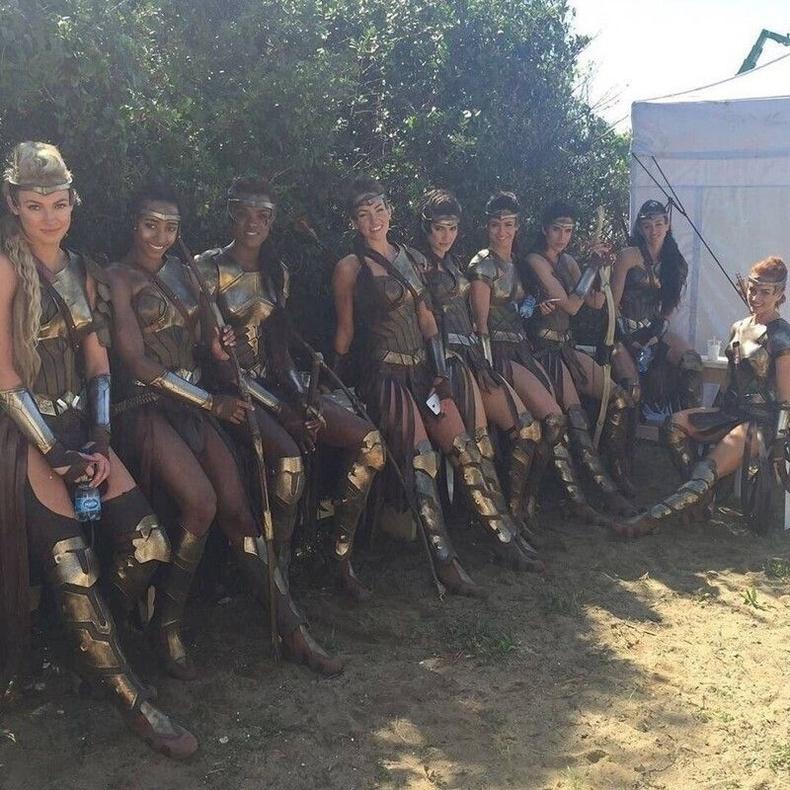 Wonder Woman дэх Аманзончууд