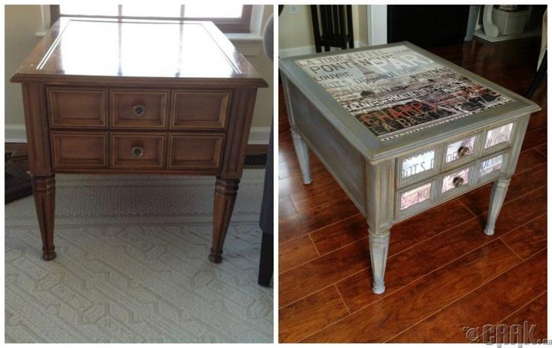 Хуучин ширээг шинэ мэт болгох