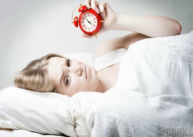 Нойр дутуу байх