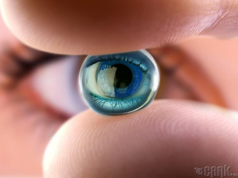 Хүний харааг автоматаар тааруулдаг линз